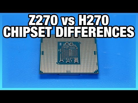 Intel Z270 vs. H270 Chipset Differences & Specs
