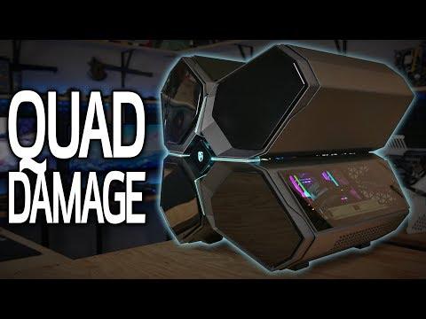 Building a $4800 PC in the Deepcool Quadstellar!