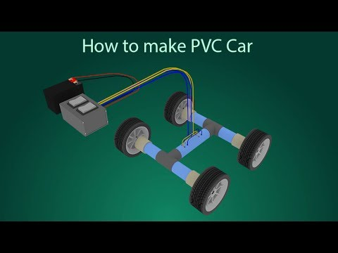 How to make a Wired PVC car at home (with Explanation) - Do It Simple