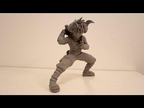 Kakashi Anbu Sculpture Tutorial (Advanced)