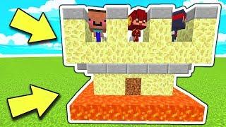LA FORTEZZA IMPENETRABILE RICOPERTA DI LAVA!! | La Guerra in Minecraft: Lucky BedWars ITA