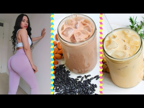 Vegan High Protein Smoothies I Drink To Grow Muscles + Printable Formulas