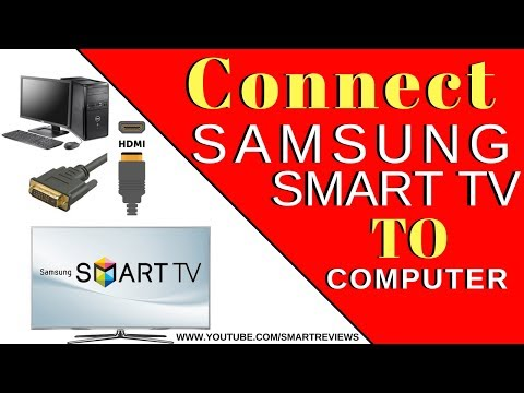 connect computer to samsung smart tv - samsung tv hdmi cable not working