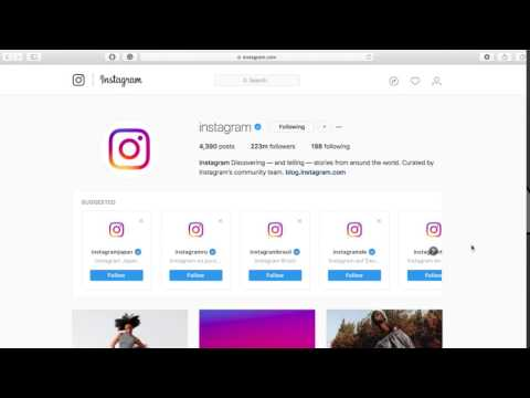 How To Follow And Unfollow An Instagram Account From Your Computer