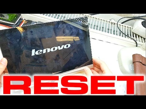 HARD RESET Lenovo YOGA 10 - Recovery | lost password | bypass | NEW System