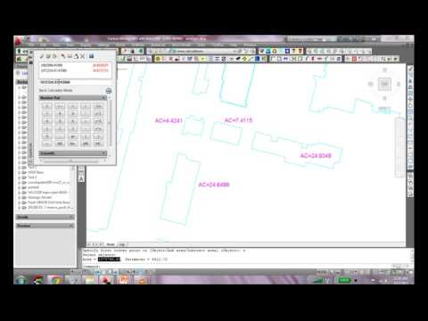 Using BASIC AREA command in AutoCAD to calculate Surface Area - Geology