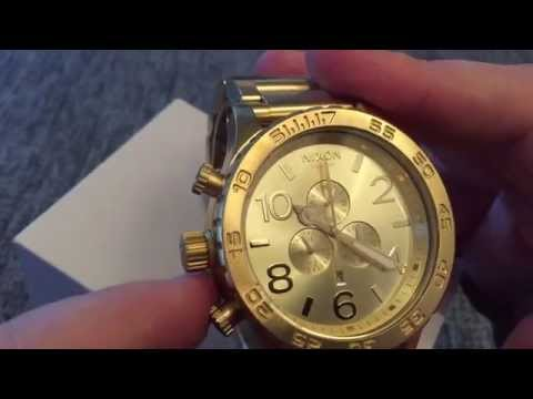 Nixon 51-30 All Gold  Everything you need to know.