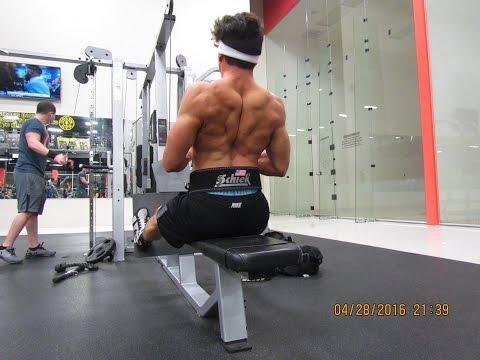V-Log, Upper Chest & Back Workout Ep:16
