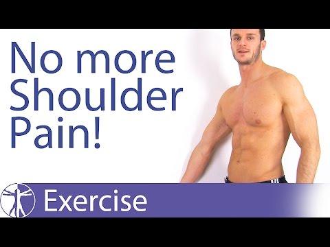 Best Shoulder Pain Relief Exercises   Rotator Cuff Tendinopathy