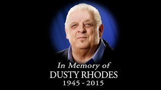 WWE pays tribute to WWE Hall of Famer Dusty Rhodes