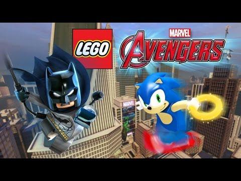 Creating Batman & Sonic! | LEGO Marvel's Avengers Customs