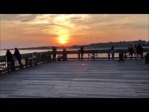 Folly Beach Pier in Charleston SC
