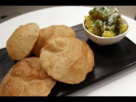 Poori Bhaaji | Simple Indian Recipes | Sanjeev Kapoor Khazana