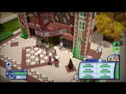 The Sims 3 Pets XBOX 360 Gameplay: Getting started (HD)