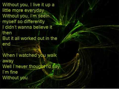 Hinder - Without You [Lyrics]