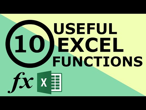 10 excel functions That Can Make Anyone An Excel Expert