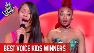 THE VOICE KIDS | BEST WINNERS from all around the world [PART 4]