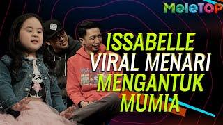 Adik Isabelle viral menari lagu Mengantuk Mumia - Didi & Friends   MeleTOP   Nabil & Sherry