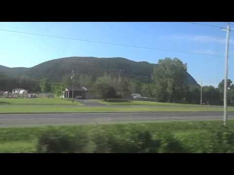 Montreal - Quebec City Train Ride (Via Rail - CANADA)