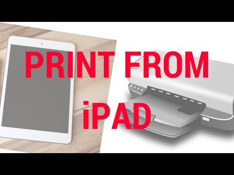 How to print from iPad?