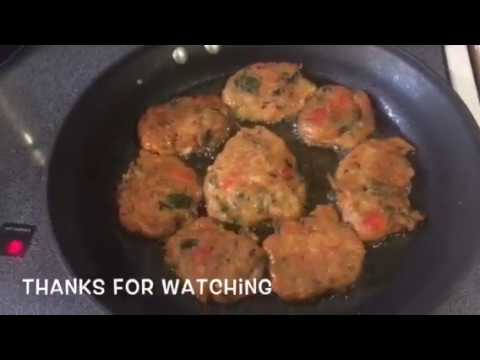 HOW TO MAKE HEALTHY/SPINACH/CODFISH CAKE/ VINCYMANNA
