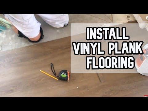 How to Install Floating Vinyl Plank Flooring DIY Video