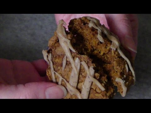 Pumpkin Oatmeal Cookies with Maple Brown Butter Icing (gluten free)