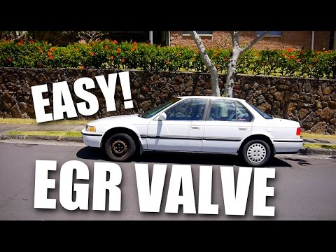 How To Replace 1992 Honda Accord EGR Valve