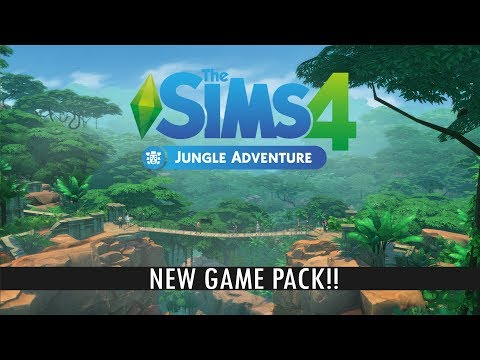 NEW SIMS 4 GAME PACK: Jungle Adventure - Trailer analysis