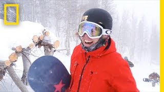 Snowboarder Kevin Pearce, From Crash to Giving Back | National Geographic