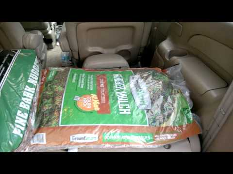 Rubber Mulch versus Pine Bark Nuggets 20150216 003