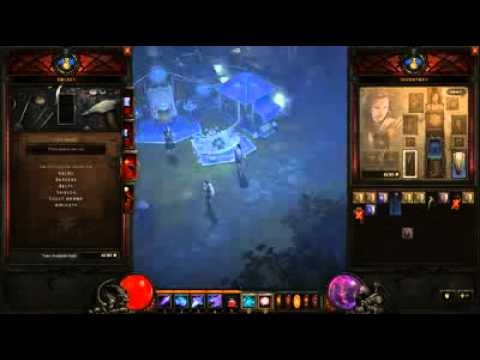 Diablo 3 [HD] Adding Sockets To Shield And Armor