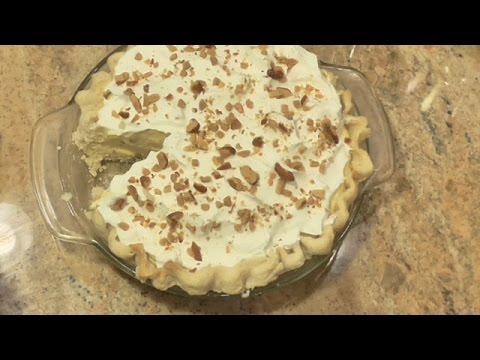 English Toffee Pie
