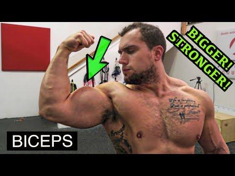 BIGGER STRONGER BICEPS WORKOUT | DUMBBELLS ONLY!