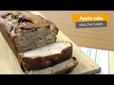 APPLE CAKE 🍎 • Healthy cakes #7