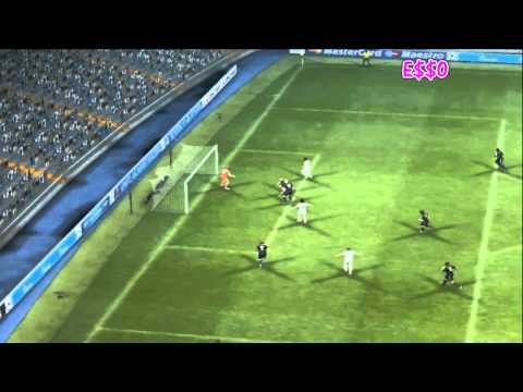 My Goals in PES 2013 [GIRL PLAYING]