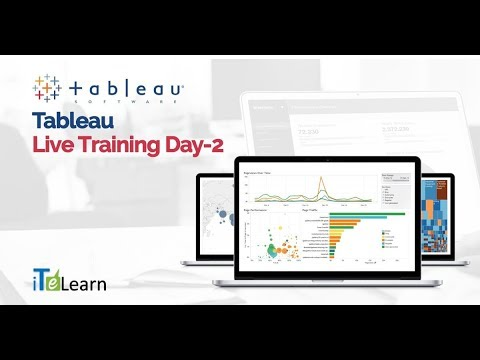Tableau Live Training Day - 02  -  iTeLearn