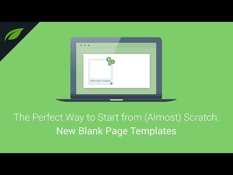 New Templates to Build Your Own WordPress Landing Pages Faster