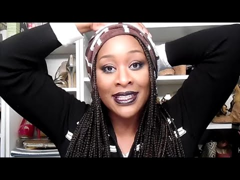 Healthy Hair With A Protective Style | Synthetic Braids
