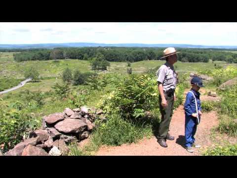 Little Round Top - Ranger Matt Atkinson