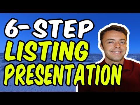 Listing Presentation Real-Estate Script (6-Step Strategy)