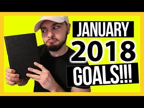 My January 2018 Monthly Goals Summary