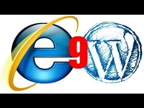 Solve Wordpress Errors With Internet Explorer