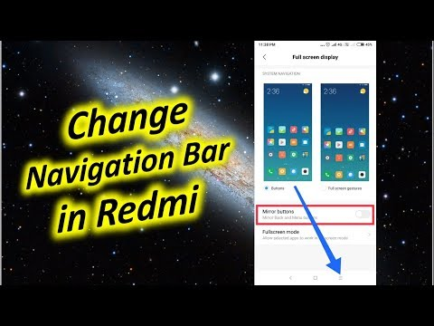 How to Change Navigation Bar in Redmi Note 5