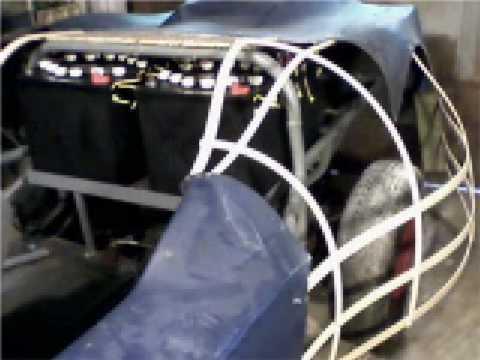 Electric Car Fiberglass Body Build part 1
