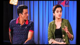 Naam Shabana - Exclusive Interview | Manoj Bajpayee, Taapsee Pannu | B4U Star Stop