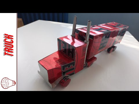 How to make Truck form cans (Powered by Hell Energy)