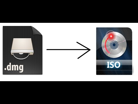 How To Convert a DMG File To An ISO File