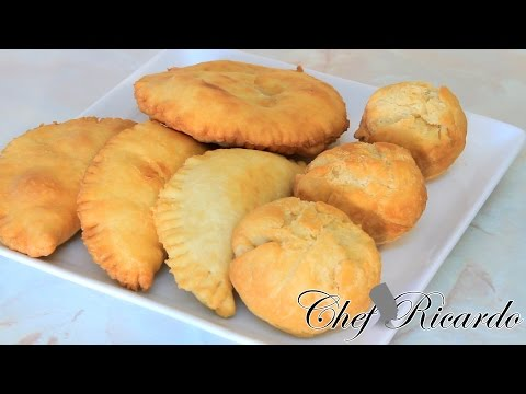 How To Make Jamaica Stuffed Fry Dumpling | Recipes By Chef Ricardo