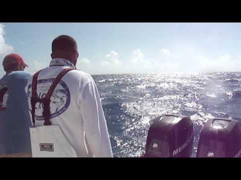 Captain Mike Halverson catching his 2nd Sailfish!! Thanks to Captain BJ Meyer of Marathon Florida!!